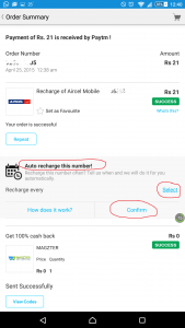 Introducing PayTM Automatic: Schedule Your Recharges