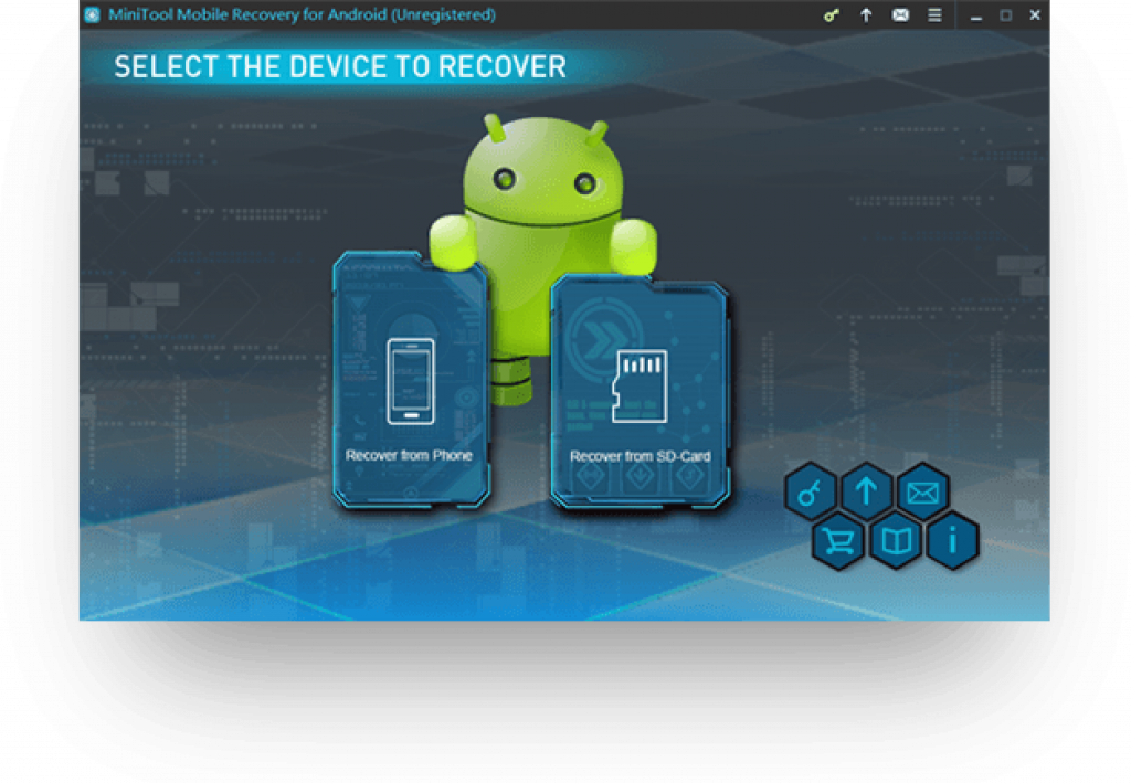Minitool Android Recovery