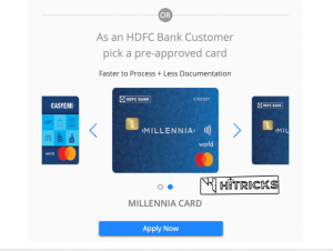 How to get Credit Cards as student in India?
