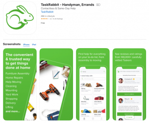 TaskRabbit: The Best Moving Apps For Home Movers