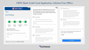 How to convert HDFC Credit Card to Lifetime Free (LTF)?