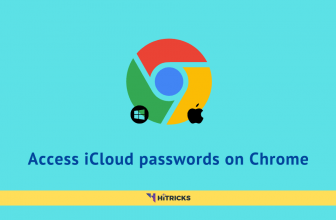 How to access iCloud passwords on Google Chrome?