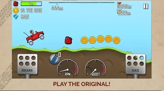 Hill climb racing offline game for mobile