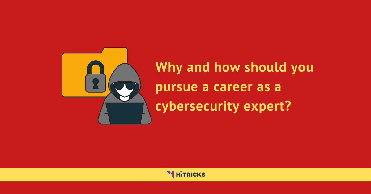 Why and how should you pursue a career as a cybersecurity expert?