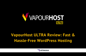 VapourHost Ultra Review: Fast & Hassle-Free WordPress Hosting