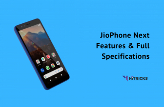 JioPhone Next Features & Full Specifications