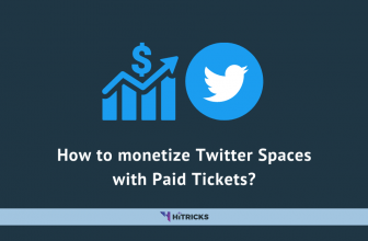 How to monetize Twitter Spaces with Paid Tickets?